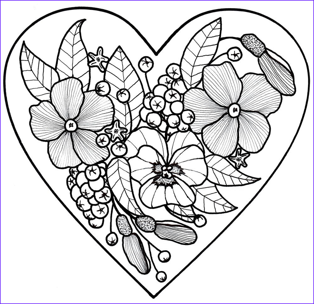 All My Love Adult Coloring Page