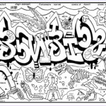 Coloring Pages For Teenagers Graffiti Cool Collection Graffiti Diplomacy Store