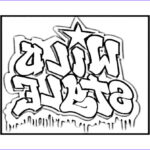 """Coloring Pages For Teenagers Graffiti Inspirational Photos Logo From The Movie """"wild Style"""""""