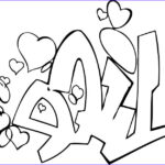 Coloring Pages For Teenagers Graffiti Inspirational Stock Coloring Page Of A Life Graffiti Tag For Kids Coloring