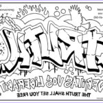 Coloring Pages For Teenagers Graffiti Luxury Collection Graffiti Coloring Page Bestofcoloring