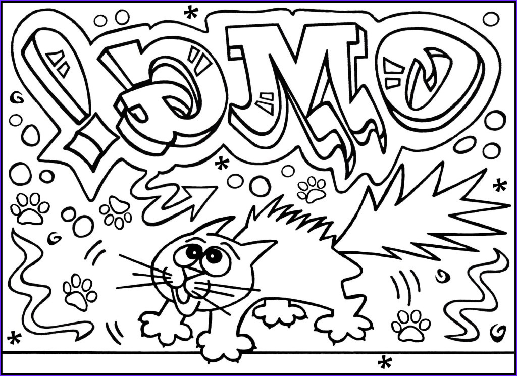 best printable graffiti coloring pages for kids 6028