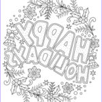 Coloring Pages Free For Adults Beautiful Image Beautiful Printable Christmas Adult Coloring Pages