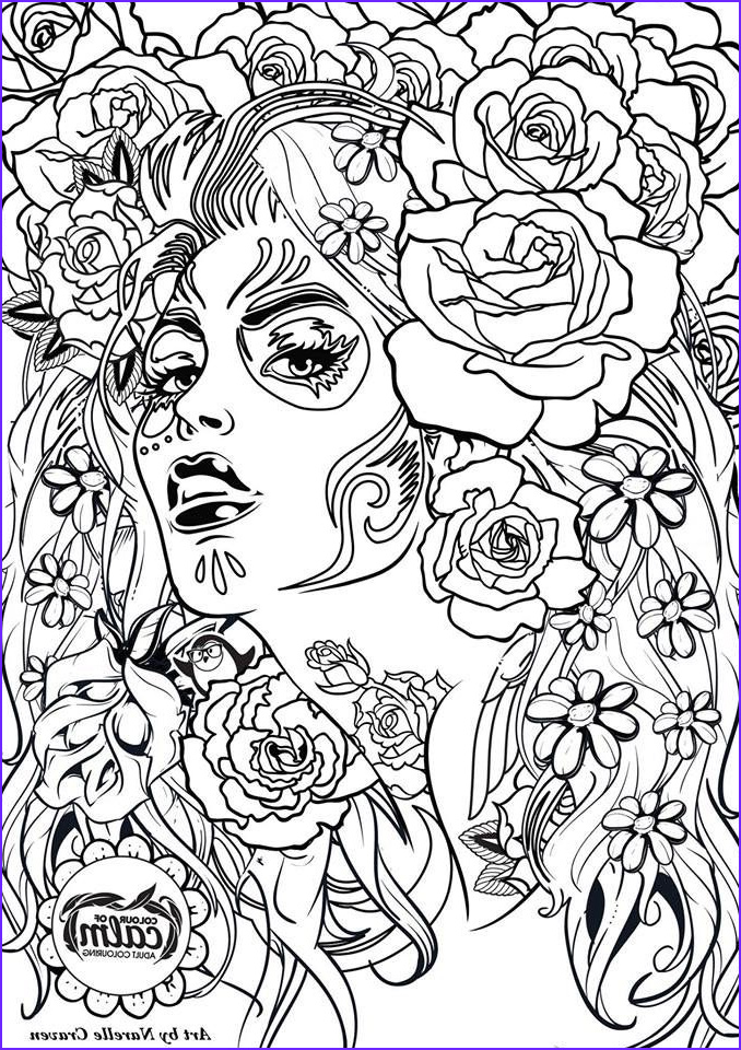 coloring pages for adults printables and freebies