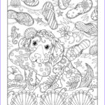 Coloring Pages Free For Adults Unique Photography Flip Flops Playful Puppies Coloring Book By Marjorie