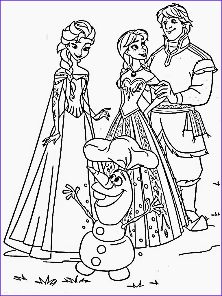 Coloring Pages Frozen Beautiful Gallery Free Printable Frozen Coloring Pages for Kids Best