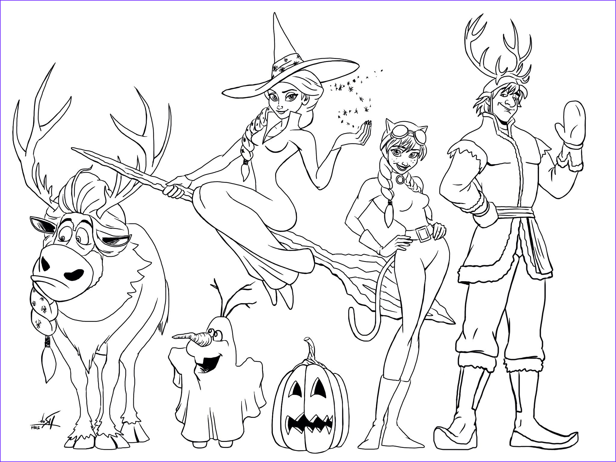 Coloring Pages Frozen Best Of Photos Frozen Halloween Coloring Page Mommy In Sports