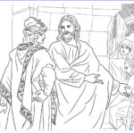 Coloring Pages Jesus Elegant Gallery Free Christian Coloring Pages For Kids Children And