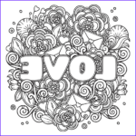 Coloring Pages Love Elegant Collection Power Of Love Adult Coloring Book Includes A Calming Music