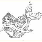 Coloring Pages Mermaids Awesome Images Barbie Dreamtopia Coloring Pages L Barbie Mermaid Drawing