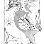 Coloring Pages Mermaids Elegant Gallery 452 Best Images About Mermaid Coloring Sheets On Pinterest