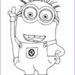 Coloring Pages Minions Best Of Collection Minion Outline
