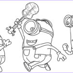 Coloring Pages Minions Cool Photos Minion Coloring Pages Best Coloring Pages For Kids