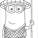 Coloring Pages Minions Inspirational Photos Purple Minion Drawing At Getdrawings