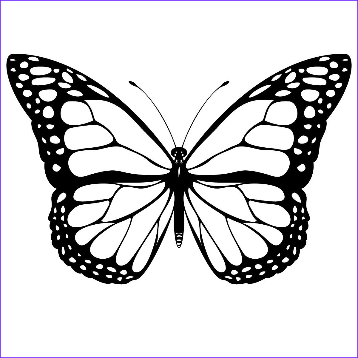 Coloring Pages Of butterflies Beautiful Image Free Printable butterfly Coloring Pages for Kids