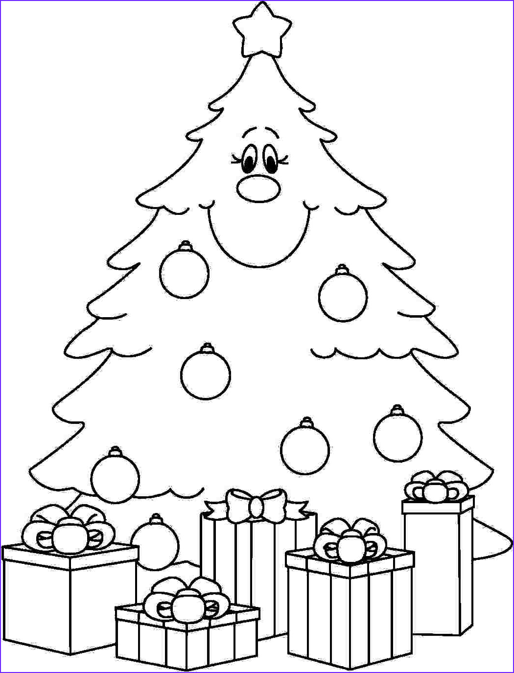 Coloring Pages Of Christmas Trees Elegant Images Under the Christmas Tree Eit Digital