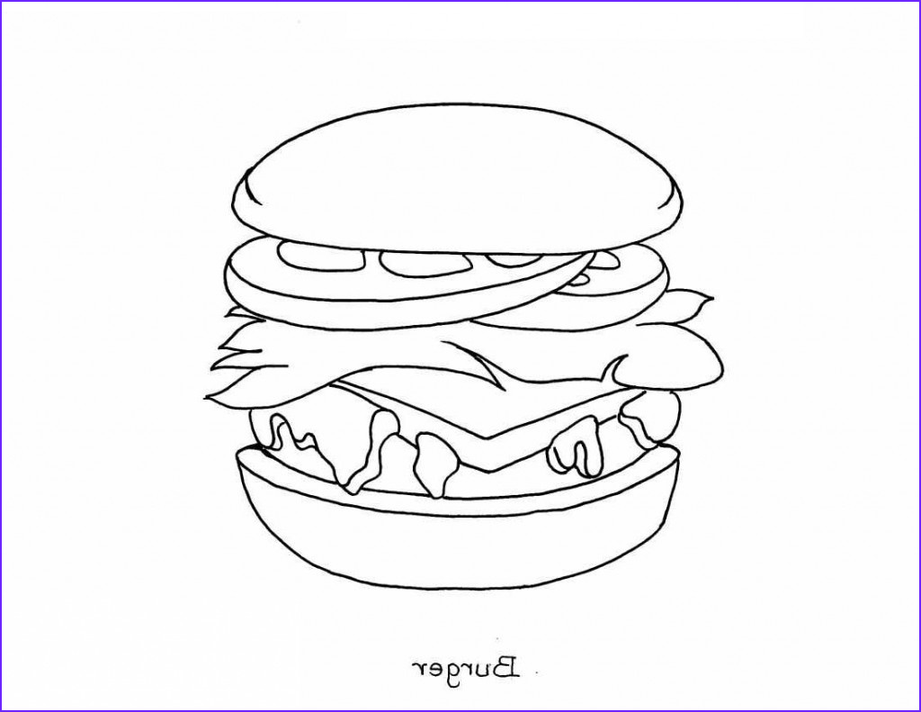 Coloring Pages Of Food Beautiful Images Free Printable Food Coloring Pages for Kids