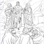 Coloring Pages Of Jesus Beautiful Collection Jesus Transfiguration Coloring Page Coloring Home