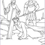 Coloring Pages Of Jesus Beautiful Collection Stations Of The Cross Coloring Pages The Catholic Kid