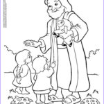 Coloring Pages Of Jesus Beautiful Photos Jesus And Kids Coloring Page