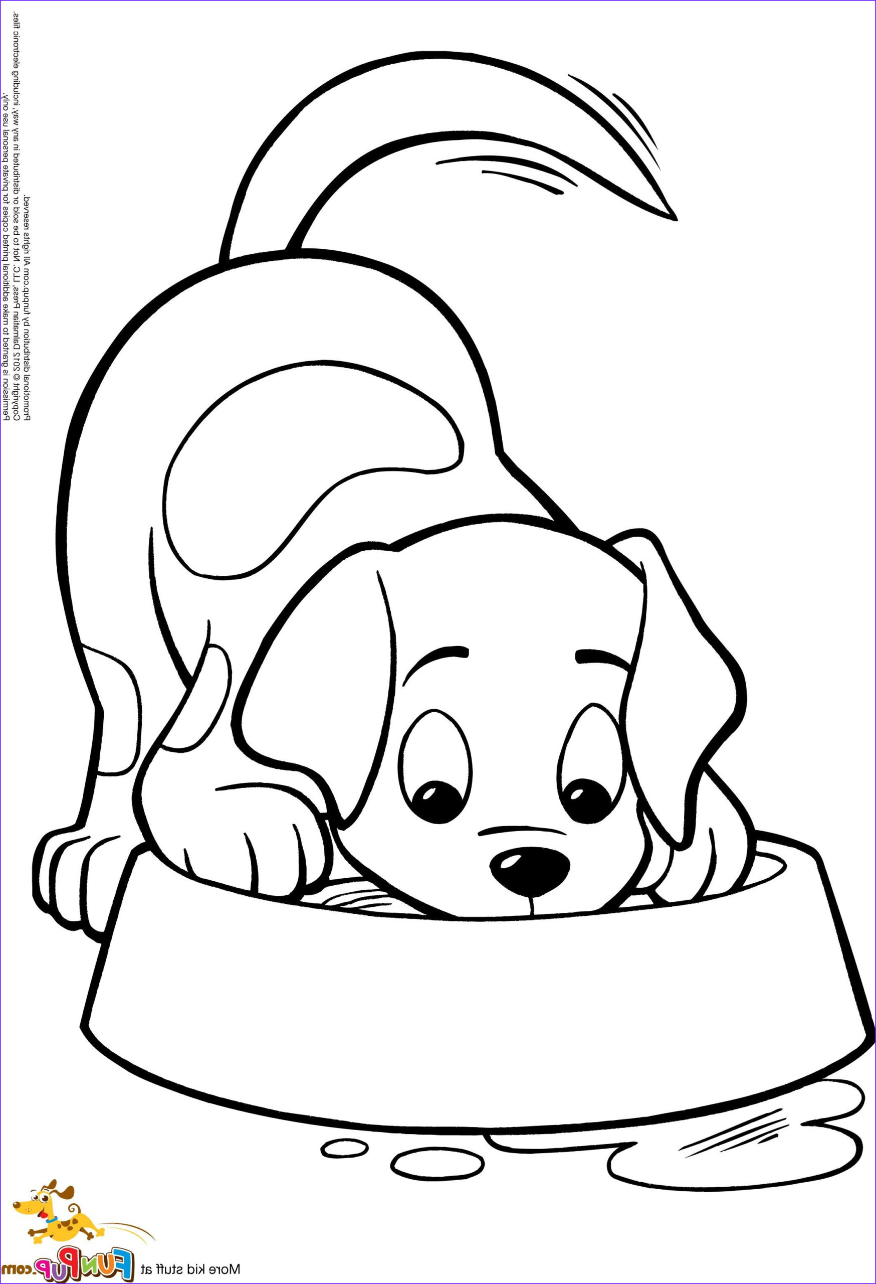 Coloring Pages Of Puppies Beautiful Image Dog Coloring Pages Bing