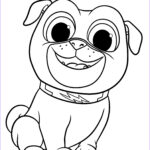 Coloring Pages Of Puppies Beautiful Photos Puppy Dog Pals Coloring Pages To And Print For Free