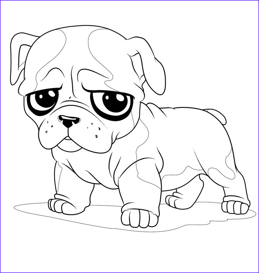 Coloring Pages Of Puppies New Image Newborn Puppy Coloring Pages to Print