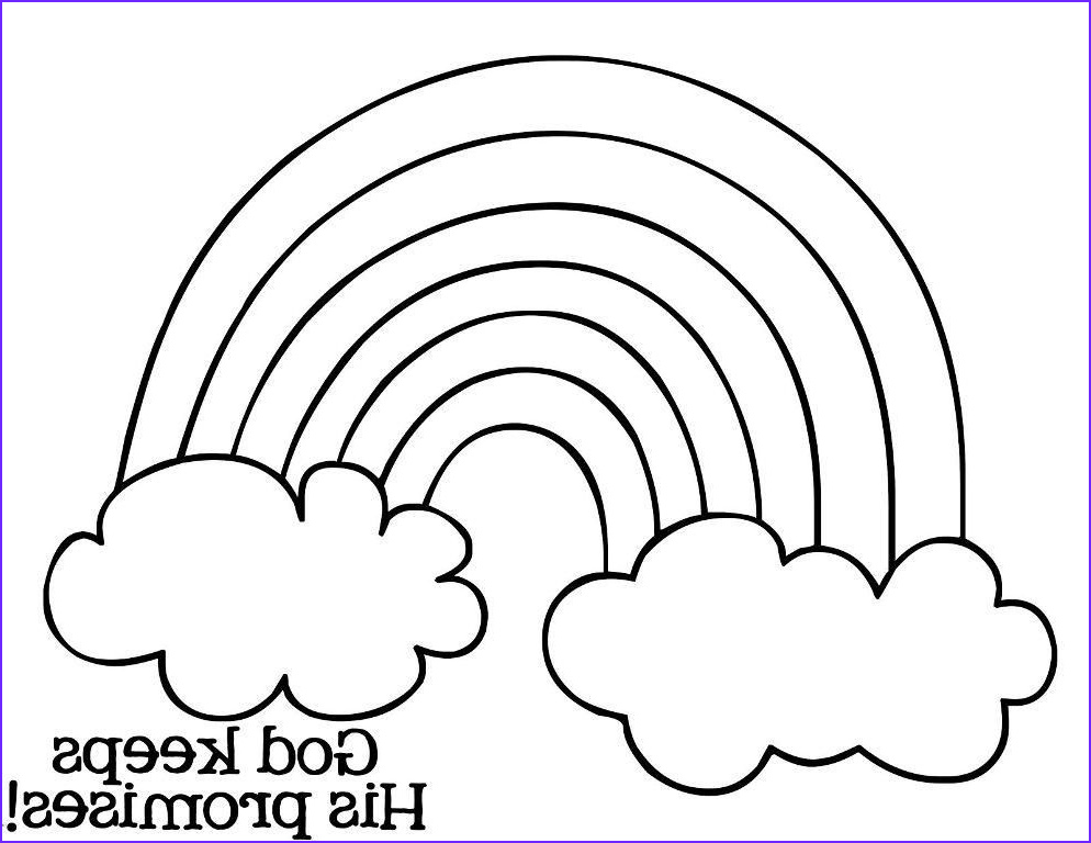 Coloring Pages Of Rainbows Cool Photos Pin On Religion Resources