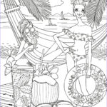 Coloring Pages Of The Beach Awesome Gallery Beach Side Coloring Page
