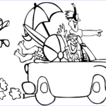 Coloring Pages Of The Beach Awesome Image Go To The Beach Coloring Page