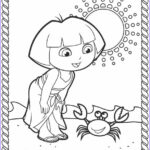 Coloring Pages Of The Beach Beautiful Gallery Dora Coloring Lots Of Dora Coloring Pages And Printables