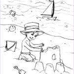 Coloring Pages Of The Beach Cool Photos Beach Coloring Pages Coloringsuite