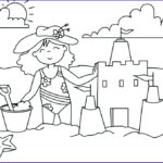 Coloring Pages Of The Beach Elegant Gallery Beach Coloring Pages Beach Scenes & Activities