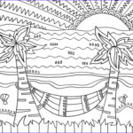 Coloring Pages Of The Beach Elegant Images Beach Coloring Pages Beach Scenes & Activities