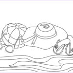 Coloring Pages Of The Beach Inspirational Photos Free Printable Beach Coloring Pages For Kids
