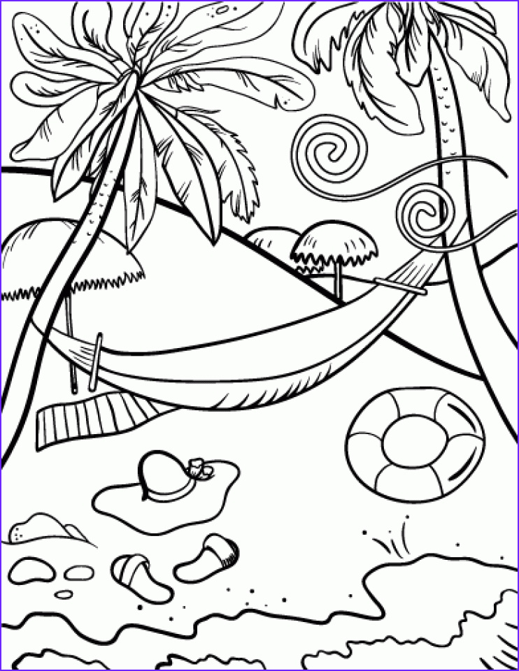 free beach coloring pages to print 9uwmi