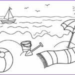 Coloring Pages Of The Beach Unique Photos Best Beach Pages For Kids 9771 Bestofcoloring