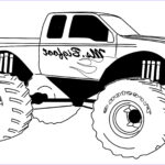 Coloring Pages Of Trucks Cool Photos Free Printable Monster Truck Coloring Pages For Kids