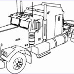 Coloring Pages Of Trucks New Collection Free Truck Coloring Pages For Adults
