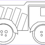 Coloring Pages Of Trucks New Photography Printable Dump Truck Coloring Pages For Kids