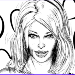 Coloring Pages Of Women Inspirational Image Woman S Portrait Coloring Page