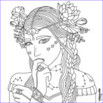 Coloring Pages Of Women Luxury Images Beauty Coloring Page