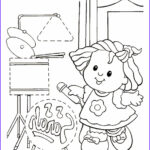 Coloring Pages People Beautiful Photos Kids N Fun
