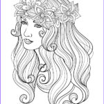Coloring Pages People Beautiful Stock Best 898 Beautiful Women Coloring Pages For Adults Ideas