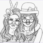 Coloring Pages People New Gallery Bestie Coloring Pages For Adults