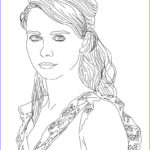 Coloring Pages People Unique Photos Nora Tschirner German Actress Coloring Pages Hellokids