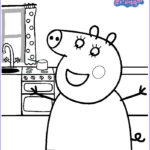 Coloring Pages Peppa Pig Awesome Image Kids N Fun