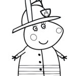 Coloring Pages Peppa Pig Beautiful Collection Peppa Pig Coloring Pages To Print For Free And Color