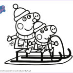 Coloring Pages Peppa Pig Beautiful Photography Peppa Pig Printable Christmas Worksheets The
