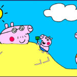 Coloring Pages Peppa Pig Beautiful Photos Peppa Pig Coloring Pages For Kids Peppa Pig Coloring
